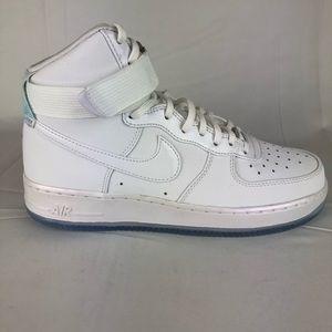 innovative design a5ab0 4b030 Nike Shoes - Nike Air Force 1 HI PRM 654440-105 Sneakers Shoes